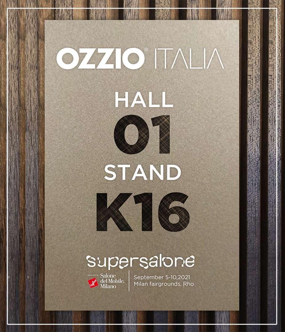 OZZIO ITALIA | Supersalone 2021